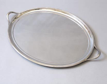 Antique Silver Trays Values